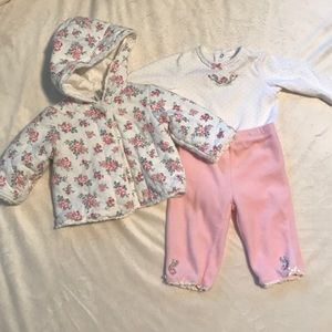 Little Me 3 pc outfit